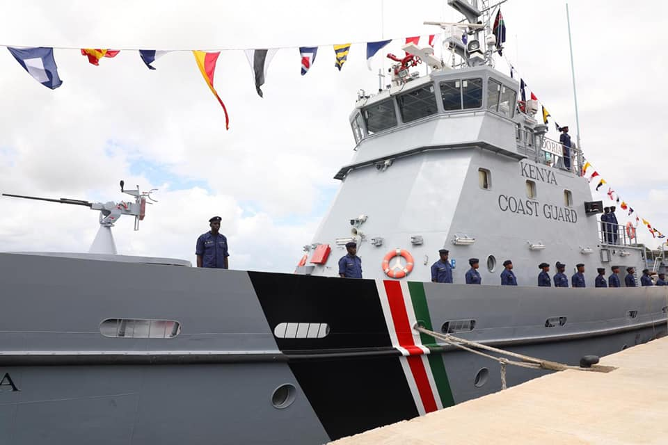 OFFICIAL LAUNCH OF THE COAST GUARD