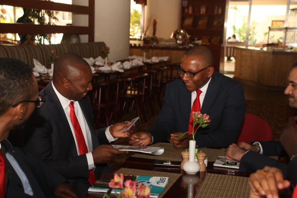 I had a sit down with the M.D of the Kenya Ports Authority Arch. Daniel Manduku with whom we brainstormed over a wide range of issues.
