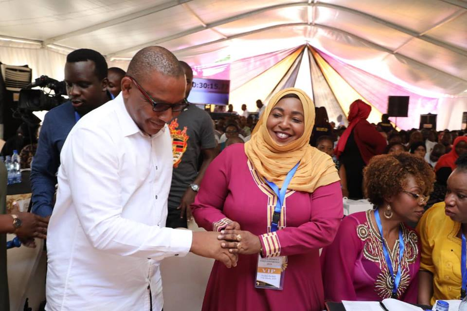 MY SPEECH ON THE GLOBAL WOMEN'S VOICE CONFERENCE AT THE SWAHILI POT HUB