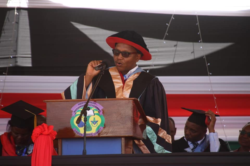 SPEECH ON SECOND GRADUATION CEREMONY OF THE KENYA COAST NATIONAL POLYTECHNIC